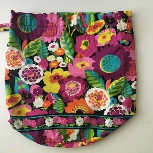 VERA BRADLEY Ditty Bag Va Va Bloom